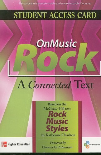 ONMUSIC ROCK-STUDENT ACCESS CARD N/A edition cover