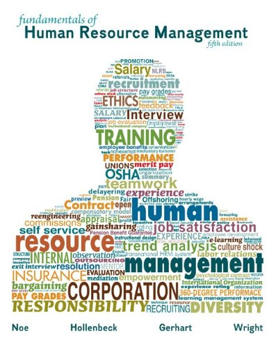 Fundamentals of Human Resource Management  5th 2014 9780078112614 Front Cover
