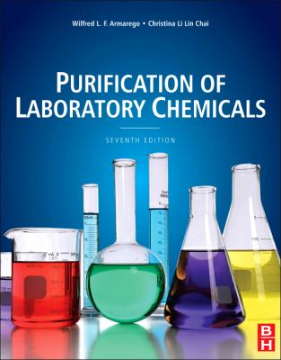 Purification of Laboratory Chemicals  7th 2012 edition cover