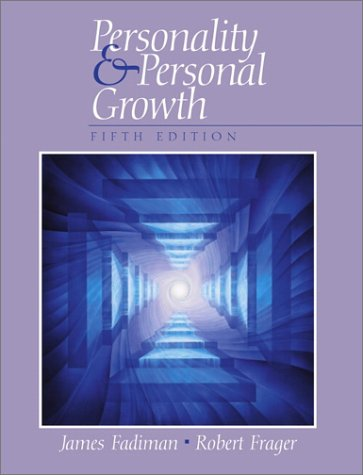 Personality and Personal Growth  5th 2002 edition cover