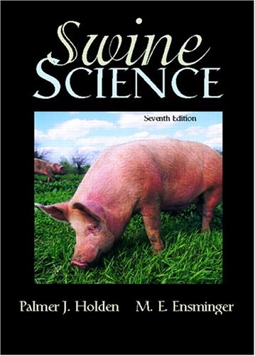 Swine Science  7th 2006 (Revised) edition cover