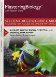 Campbell Essential Biology, Pearson Etext: With Physiology Chapters  2015 9780134018614 Front Cover
