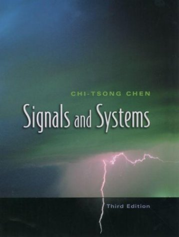 Signals and Systems  3rd 2004 (Revised) edition cover