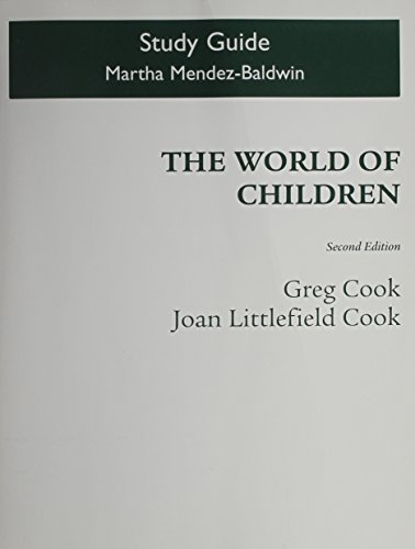 World of Children  2nd 2010 (Guide (Pupil's)) 9780205778614 Front Cover
