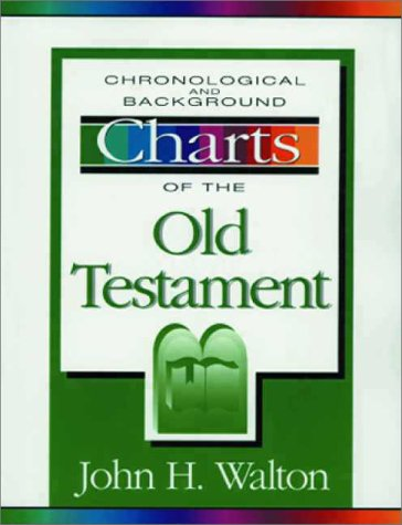 Chronological and Background Charts of the Old Testament  2nd 1994 (Revised) edition cover