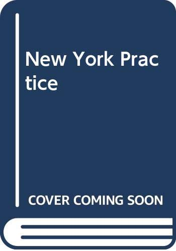 New York Practice  5th 2011 edition cover