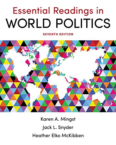 Essential Readings in World Politics:   2019 9780393664614 Front Cover