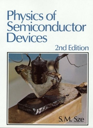 Physics of Semiconductor Devices 2nd 1981 (Revised) edition cover