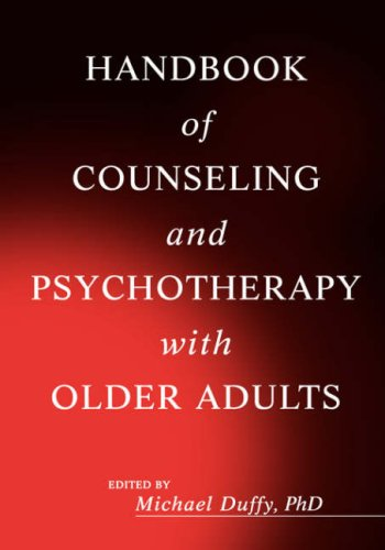 Handbook of Counseling and Psychotherapy with Older Adults   1999 edition cover