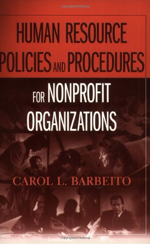 Human Resource Policies and Procedures for Nonprofit Organizations   2006 edition cover