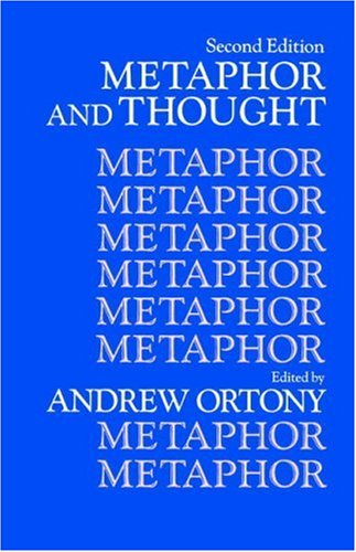 Metaphor and Thought  2nd 1993 (Revised) 9780521405614 Front Cover