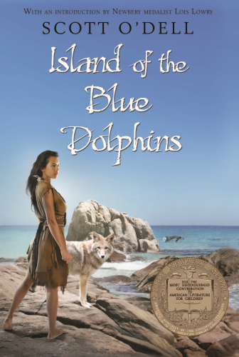 Island of the Blue Dolphins   2011 9780547328614 Front Cover