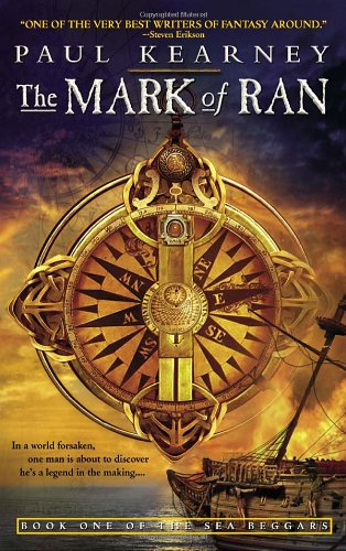 Mark of Ran Book One of the Sea Beggars  2005 9780553383614 Front Cover