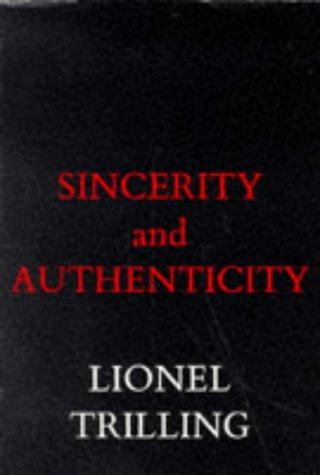 Sincerity and Authenticity   1972 edition cover