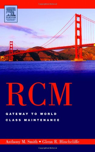 RCM--Gateway to World Class Maintenance  2nd 2002 edition cover