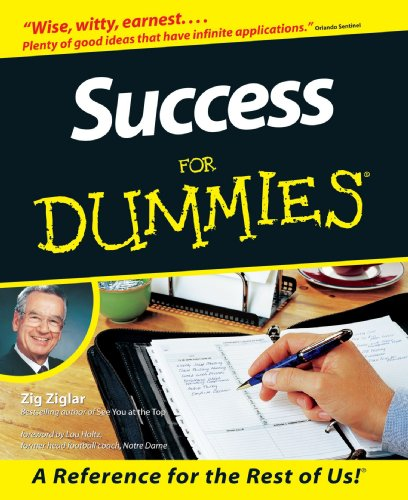 Success for Dummies   1998 edition cover
