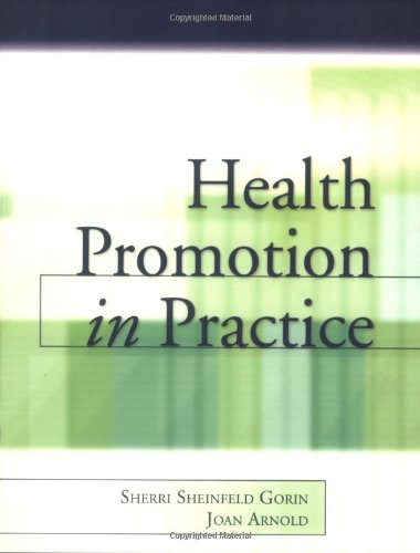 Health Promotion in Practice   2006 edition cover