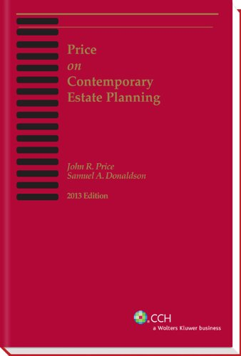 Price on Contemporary Estate Planning (2013) N/A 9780808030614 Front Cover