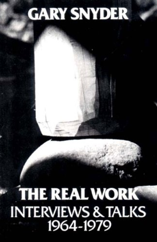 Real Work Interviews and Talks, 1964-1979  1980 edition cover