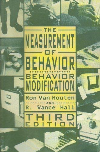 Behavior Modification The Measurment of Behavior 3rd 2001 edition cover