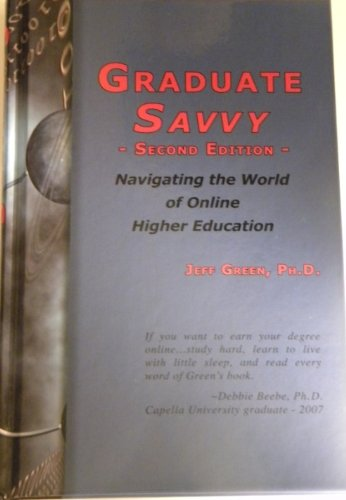 Graduate Savvy Navigating the World of Online Higher Education 2nd edition cover