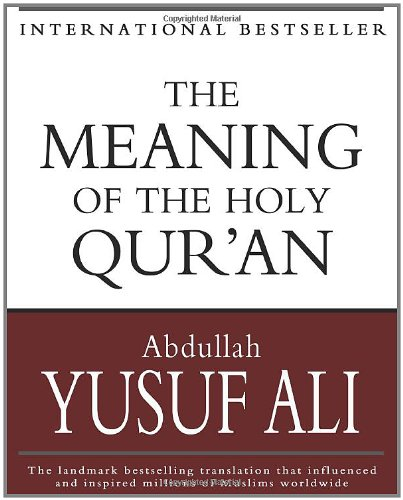 Meaning of the Holy Qur'an  N/A edition cover