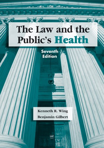 Law and the Public's Health  7th 2007 edition cover