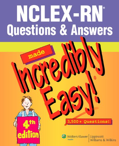 NCLEX-RN� Questions and Answers  4th 2007 (Revised) edition cover
