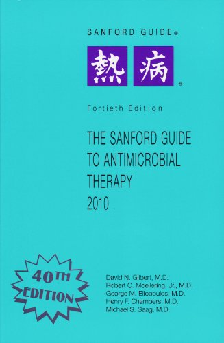 The Sanford Guide to Antimicrobial Therapy, 2010: Library Edition  2010 edition cover