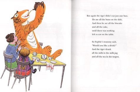 The Tiger Who Came to Tea (Collins Picture Lions) N/A edition cover
