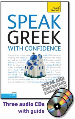 Speak Greek With Confidence: A Teach Yourself Guide  2010 edition cover