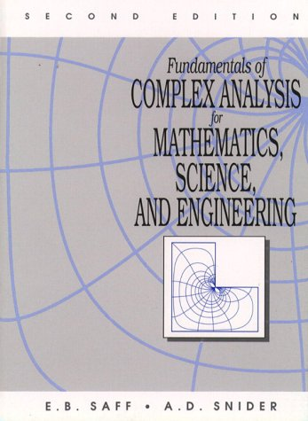 Fundamentals of Complex Analysis for Mathematics, Science and Engineering  2nd 1993 edition cover