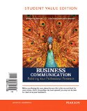 Business Communication: Polishing Your Professional Presence; Student Value Edition  2015 edition cover