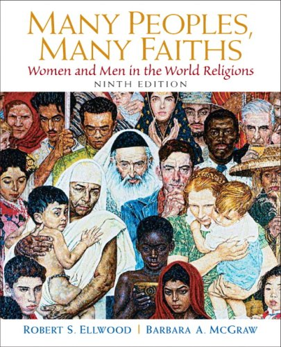 Many Peoples, Many Faiths  9th 2009 edition cover