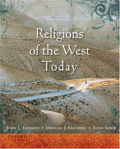 Religions of the West Today   2009 edition cover