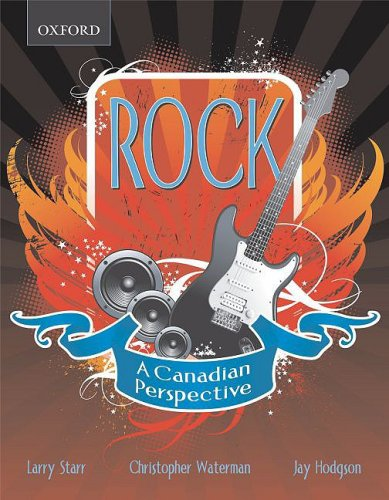 Rock A Canadian Perspective  2008 9780195427615 Front Cover