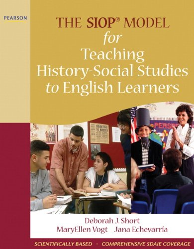 SIOP Model for Teaching History-Social Studies to English Learners   2011 edition cover