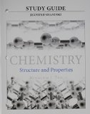 Study Guide for Chemistry Structure and Properties  2015 edition cover