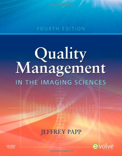 Quality Management in the Imaging Sciences  4th 2010 edition cover