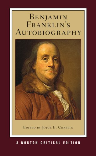 Benjamin Franklin's Autobiography  2nd 2011 edition cover