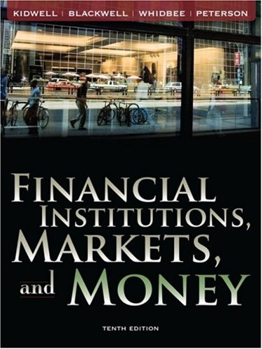 Financial Institutions, Markets, and Money  10th 2009 edition cover