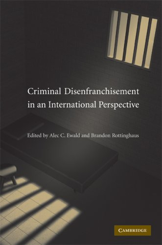 Criminal Disenfranchisement in an International Perspective   2009 9780521875615 Front Cover