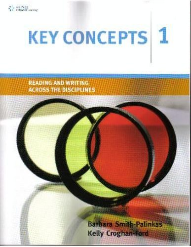 Key Concepts 1 Reading and Writing Across the Disciplines  2009 edition cover