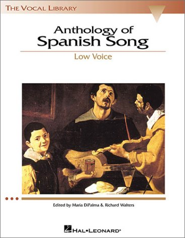 Anthology of Spanish Song  N/A edition cover