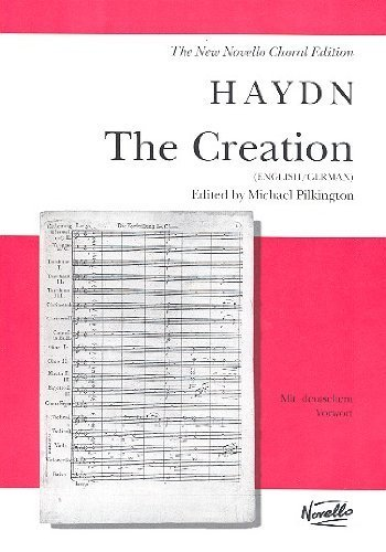 Haydn, J Creation, the VSc English and German  N/A edition cover