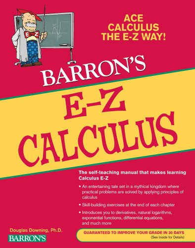 E-Z Calculus  5th 2010 (Revised) edition cover