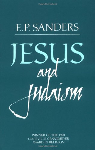 Jesus and Judaism  N/A edition cover