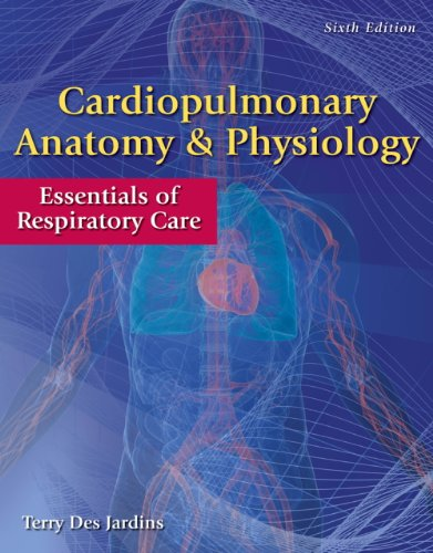 Cardiopulmonary Anatomy and Physiology  6th 2013 edition cover