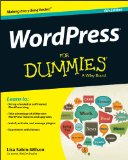 WordPress for Dummies�  6th 2014 edition cover