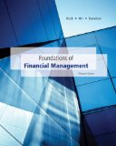 Foundations of Financial Management  15th 2014 edition cover